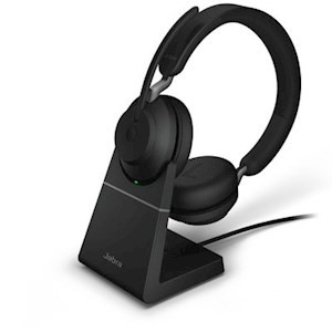 JABRA EVOLVE2 65, LINK380A MS DUO STAND BLACK