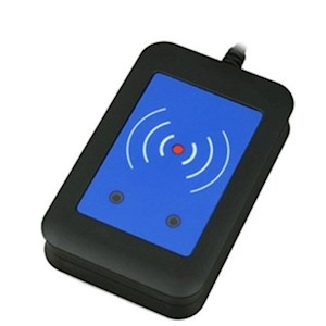 External RFID Reader 125kHz + 13.56MHz (USB interface)