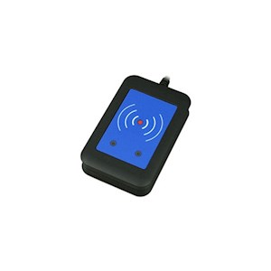 External secured RFID reader 13.56MHz + 125kHz (USB interfac