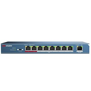 Hikvision 4 poorts Ethernet PoE switch, unmanaged