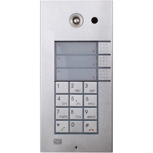 Helios IP 3 button + keypad + cam.