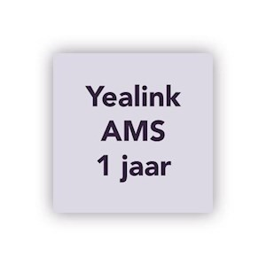 Yealink AMS 1 jaar tbv MVC500 Wireless