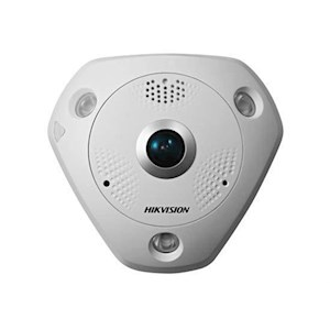 Hikvision 12MP Dome IP Fisheye Camera, IR